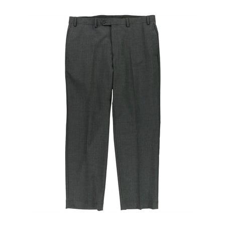 Ralph Lauren Mens Wool-Blend Casual Trousers charcoal 36x30