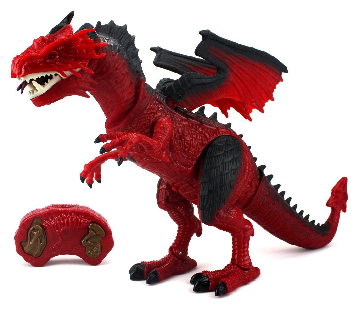 Dinosaur Planet Dragon Battery Operated Remote Control Walking Toy Dinosaur Figure w  Shaking Head, Walking... by Velocity Toys