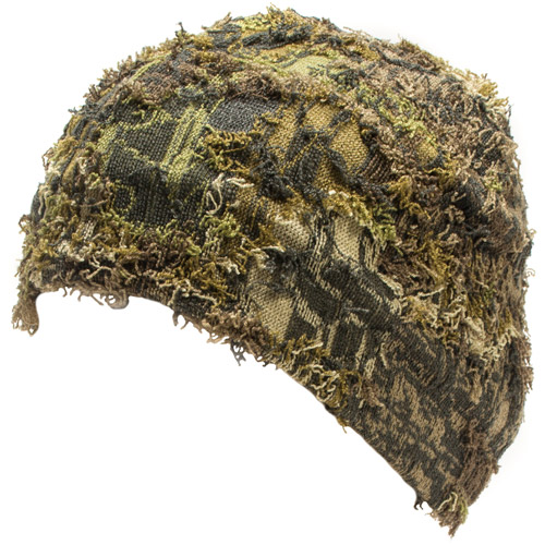 QuietWear Camo Grass Beanie, One Size Fits Most