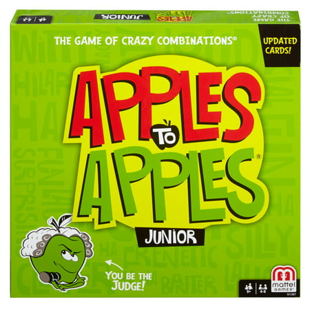 Apples to Apples Junior, Fun Family Game for 9 Year-Olds and (Fun Games To Play Inside The House)