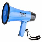 Pyle PMP31BL Compact & Portable Megaphone Speaker with Siren Alarm Mode