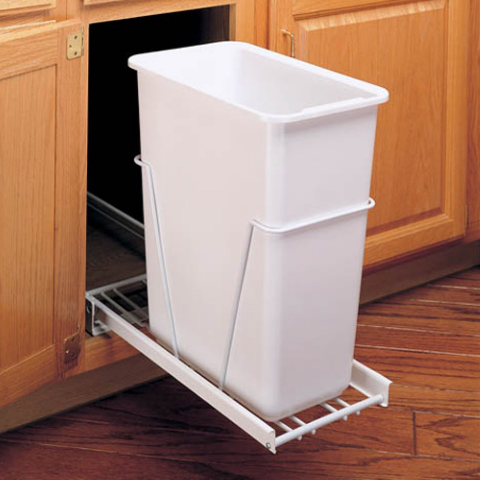 Rev-A-Shelf Single Pull Out 35 qt. Trash Can