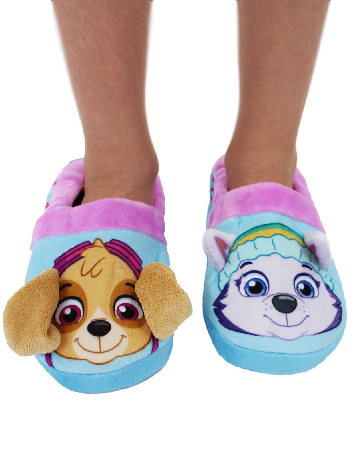 Paw Patrol Everest Skye Warm Kids Plush Puppy Slippers Shoe Indoor Eu Sizes