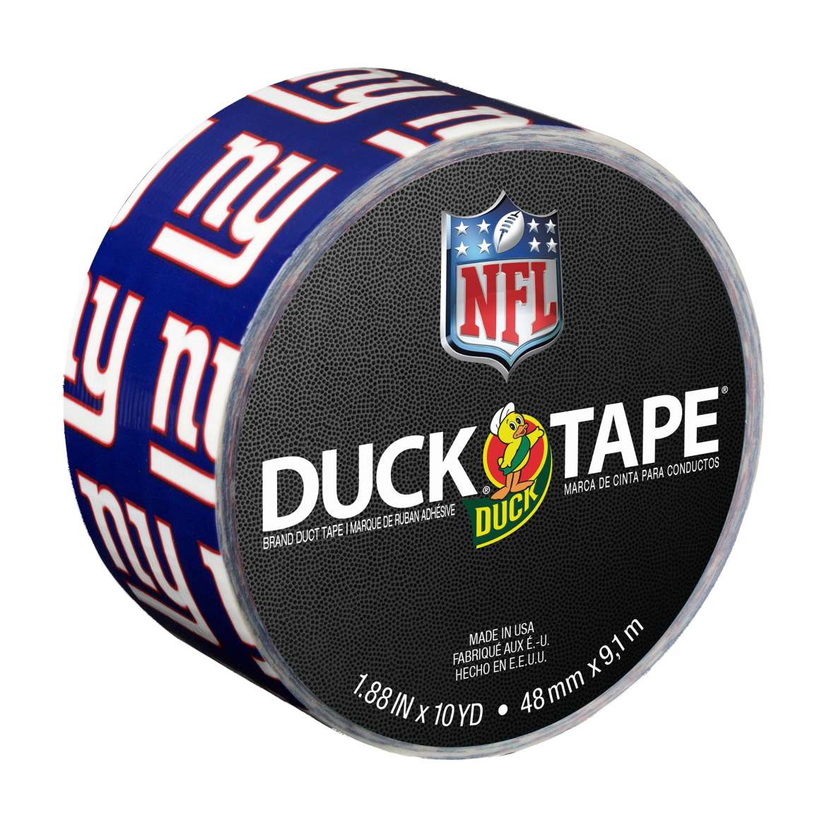"Duck Brand Duct Tape, NFL Duck Tape, 1.88"" x 10 yard, New York Giants"
