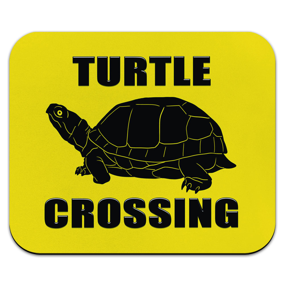 Turtle Crossing Mouse Pad