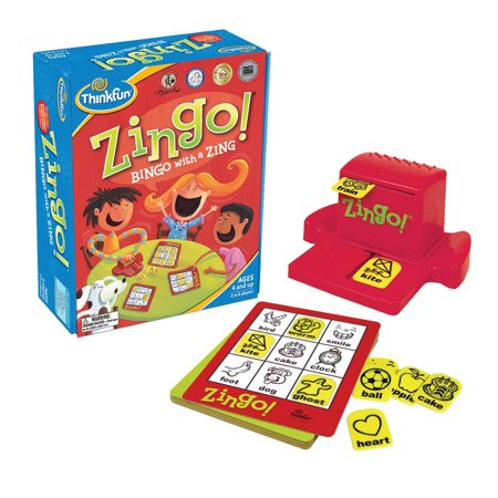 ThinkFun Zingo (Discontinued by manufacturer)Teaches image and vocabulary recognition, matching, memory, concentration, and social interaction By Think Fun