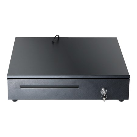 matoen Cash Drawer Box 5 Bill And 5 Coin Tray Heavy Duty Compact Black US Stock Cash Drawer Compact