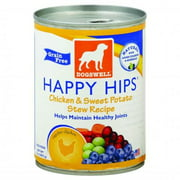 Dogswell Happy Hips Grain Free Dog Food Chicken & Sweet Potato Stew Recipe, 13.0 OZ