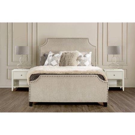 Ash Natural Bed - Hillsdale Furniture Dekland Bed, Multiple Sizes