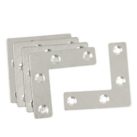 - uxcell 5 Pcs Angle Plate Corner Brace Flat L Shape Repair Bracket 50mm x 50mm