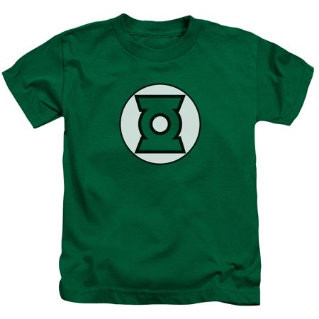 Justice League Green Lantern Logo Little Boys Shirt (Justice Boys)