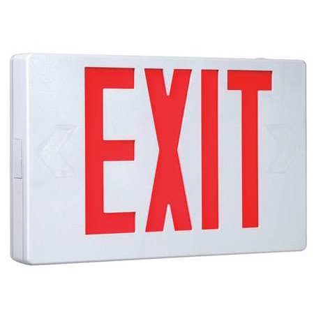 Cooper Lighting Exit Sign 3 0w Red 1 Or 2 Faces Apx7r