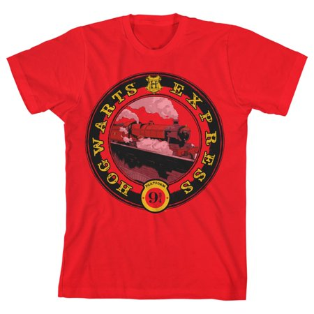 Boys Youth Hogwarts Express Shirt Platform 9 3/4 TShirt-X-Large