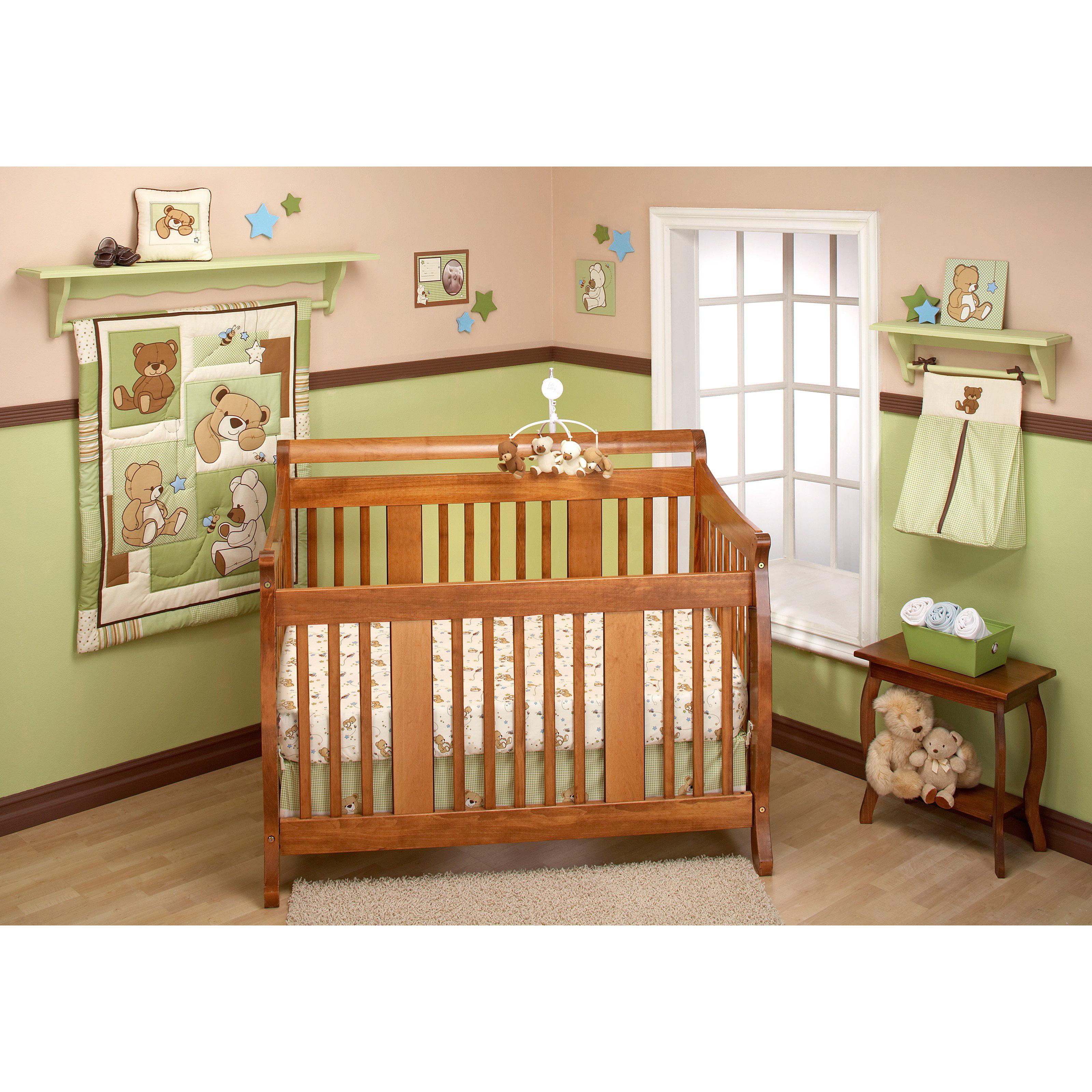 Little Bedding by NoJo Dream Land Teddy Unisex Crib Set