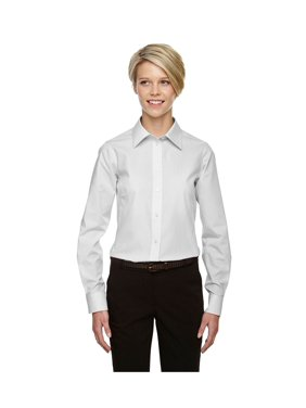 aead1f00 Product Image Devon & Jones Women's Crown Collection Gingham Check Shirt,  Style D640W
