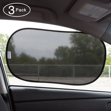 Windshield Bag - Windshield Sun Shade 3 Pack Carry Bag- Sunshade With Static Cling Surface- Protects Cars, Trucks and SUVs from UV Rays and Blocks Heat by Stalwart