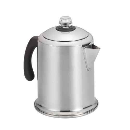 Meyer Farberware Classic Stainless Steel Yosemite 8-Cup Coffee Percolator
