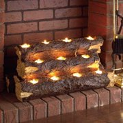 Sierra Tealight Fireplace Log