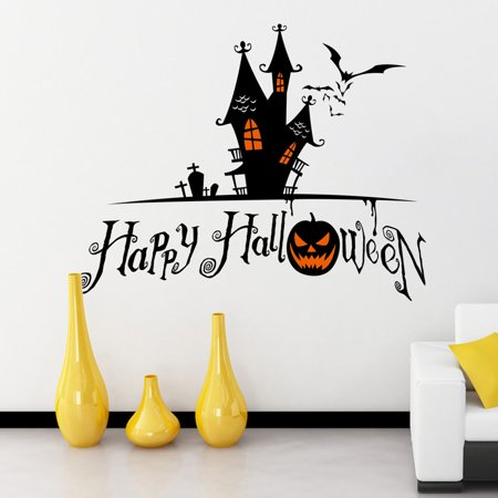 Hotsales Halloween Home Decor Wall Sticker hotsaless DIY Removable Vinyl Wall Sticker hotsales](Home Diy Halloween)