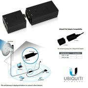 Ubiquiti airGateway, Indoor Access Point PoE Passthrough to Power airMAX CPE