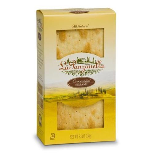 La Panzanella Sesame Croccantini Box 5. 5-Ounce Boxes (Pack of 12)