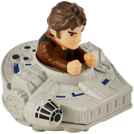 Hot Wheels Star Wars Han Solo Millennium Falcon Battle Roller