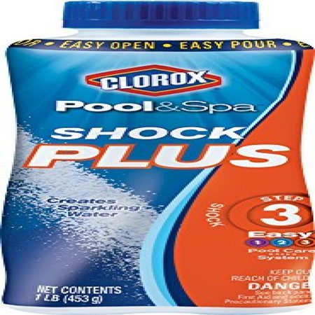 Clorox Pool&Spa Shock Plus, 1-Pound 32030CLX ()