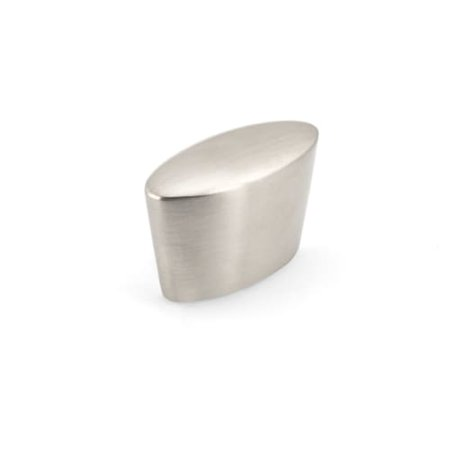 Richelieu BP870 1-3/8 Inch Long Oval Cabinet Knob from the Expression Collection