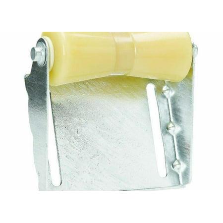 8in Drainboards (C.E. Smith 10453G Roller Bracket Assemblies - 8in. Keel - Yellow Rubber)