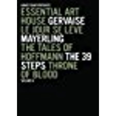 Essential Art House, Volume IV (Gervaise / Le Jour Se Leve / Mayerling / The Tales of Hoffmann / The 39 Steps / Throne