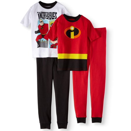 The Incredibles Baby (Boys' Incredibles 4 Piece Pajama Sleep Set (Little Boy & Big)