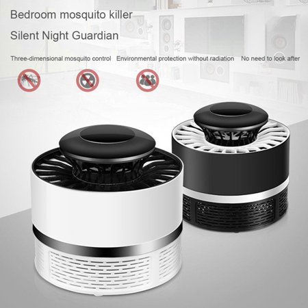 Mosquito Killer Light Waterproof, 5W USB Smart Optically Controlled Insect Killing Lamp,Fly Insect Bug Mosquito Kill Zapper Killer,Bug