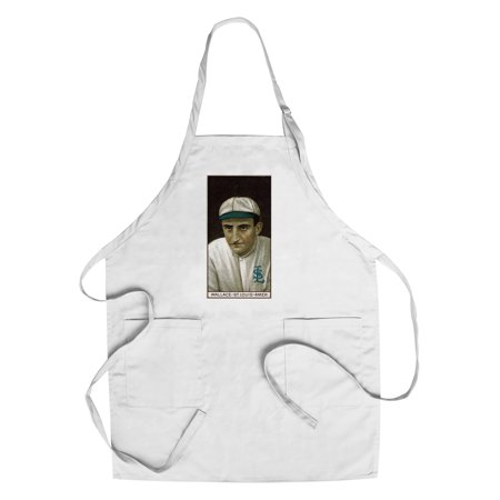 St. Louis Browns - Robert Wallace - Baseball Card (Cotton/Polyester Chef's Apron) ()