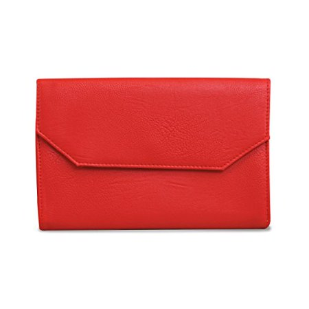 Beyond A Bag Corso Clutch in - Red Tank Bags
