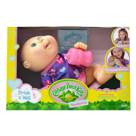 Cabbage Patch Kids Drink N' Wet Newborn Doll for $<!---->