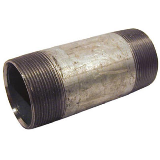 Pannext Fittings NG-2055 Galvanized Nipple - 2 x 5.5 in. - image 1 of 1