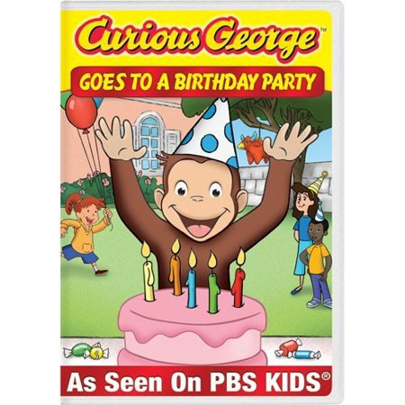 Curious George: Goes to a Birthday Party (DVD)
