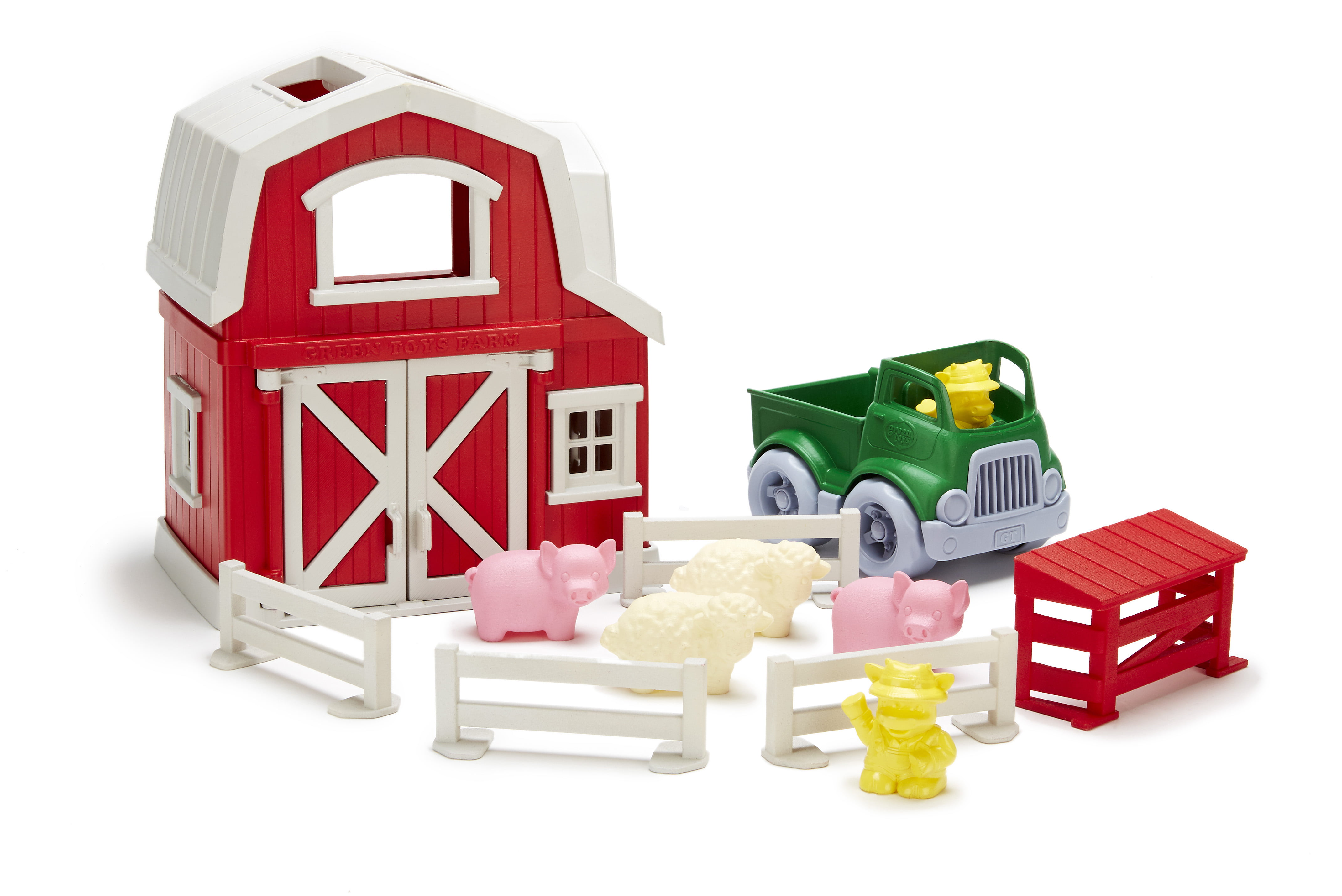 Cookware and Dinnerware Set 27 Piece Set by Green Toys 100/% recycled materials