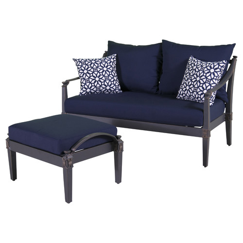 RST Brands Astoria 2 Piece Deep Seating Group with Cushion