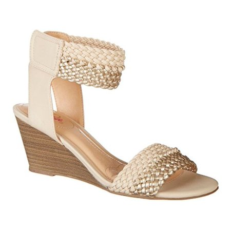 cd427bbebabc Xoxo - Xoxo Women s Sonnie Wedge Sandal - Walmart.com