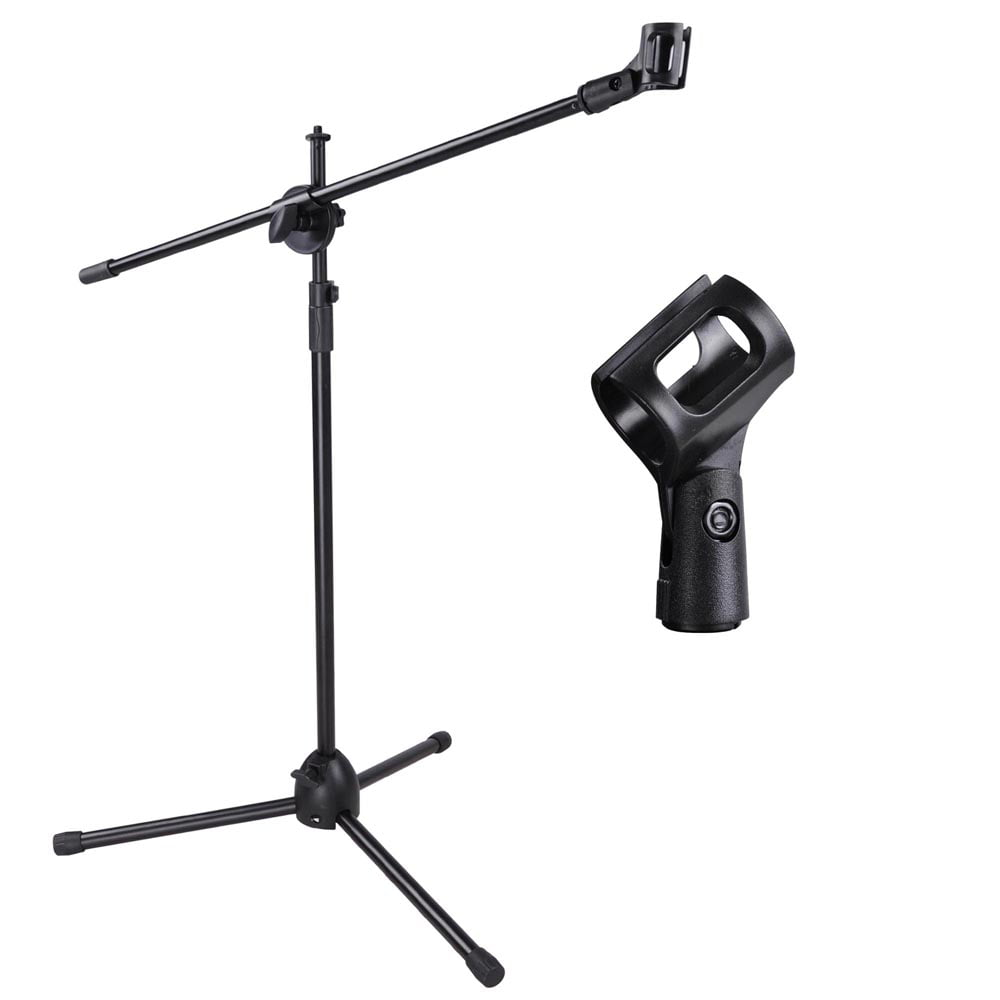 Adjustable Microphone Stand Boom Arm Mic Mount Quarter-turn Clutch Tripod Holder Audio... by Yescom