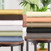 1500 Thread Count Egyptian Cotton Deep Pocket Bedding Sheets & Pillowcases, 4-Piece Sheet Set by Impressions - California King