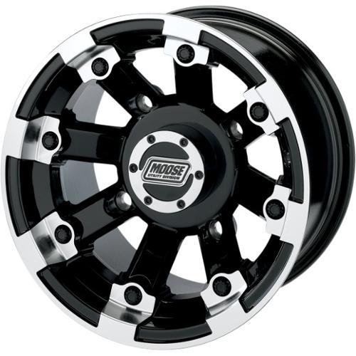 Moose Racing 393X Wheel (Rear) 12X8 Fits 09-12 Polaris RZR S 800