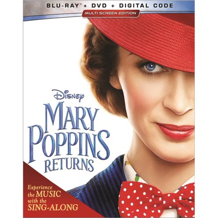 Mary Poppins Returns (Blu-ray + DVD + Digital) ()