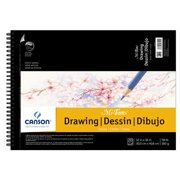 CANSON/FILA CO 200006194 MI-TEINTES DRAWING CREAM PAD 12X16