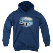 Wildlife Hunter's Moon The Spoils Big Boys Pullover Hoodie
