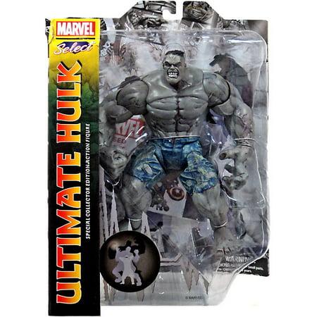 Marvel Select Ultimate Hulk (Gray) Action Figure ()