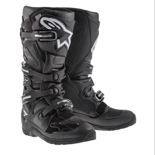 Alpinestars Tech 7 Enduro Mens MX/Offroad Boots Black 8