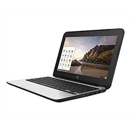 Refurbished HP 11.6 Chromebook 11 G4, 4 GB RAM, 16 GB SSD, Intel HD Graphics, Black