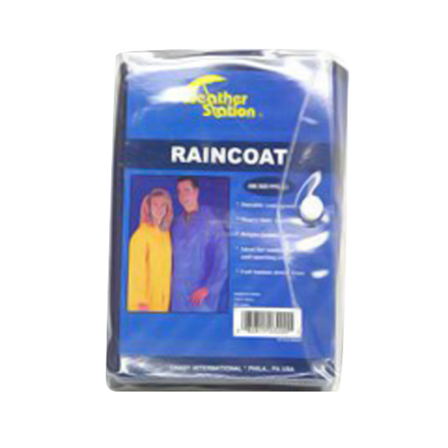 Weather Station Raincoat For Adult 1 Ea by Chaby